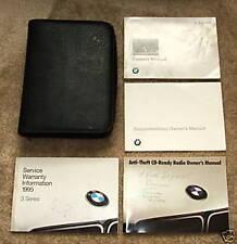 1996 BMW 740iL 750iL manual, 4 books plus case