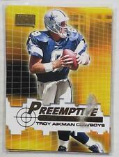 TROY AIKMAN - Skybox 2000 Preemptive Strike #P8 Insert (Dallas COWBOYS)
