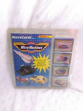 VINTAGE MICRO MACHINE'S MICRO CARDS KIT SERIES 1 BRAND NEW SEALED! FAST SHIP!