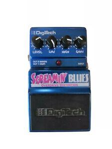 DigiTech Screamin' Blues Overdrive Distortion DSB Pedal Effekt Gitarre stompbox