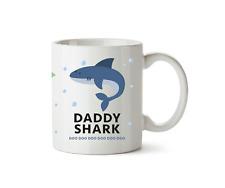 Daddy Shark Mug New Song Shower Gift Kids Children's Present Ceramic Cup 10oz