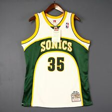 100% Authentic Kevin Durant Mitchell Ness Sonics NBA Jersey Mens Size 48 XL