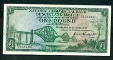 Scotland National Commercial Bank (P269) 1 Pound 1964