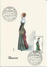 Spain  Espana   1968  Huesta  Chemistry  Barcelona  Cover / Maxi Card / Postcard