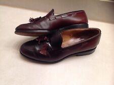 $379 Allen Edmonds  8E Tassel Woven Leather Loafer Slip On