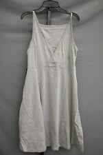 Toad&Co Samba Corfu Mini Dress, Women's Size L, Heather Gray NEW