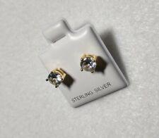 925 Sterling Silber Ohrringe 5mm Ohrstecker Zirkonia Silver stud Earrings us-054