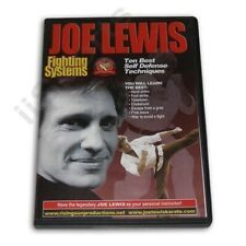 Joe Lewis Fighting Best Self Defense Techniques #14 Dvd takedowns chokeholds New