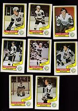 1976 O-PEE-CHEE WHA Team SET Lot of 8 New England WHALERS NM OPC ABRAHAMSSON