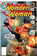 Jose Delbo SIGNED Wonder Woman #255 DC Comic Art Print
