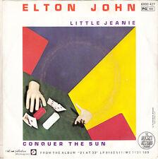 "Elton John 7"" Little Jeanie / Conquer The Sun - France"