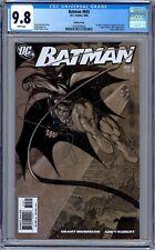 Batman #655 CGC 9.8 (2006, DC) 1st App. of Damian Wayne. Adam Kubert Variant HTF