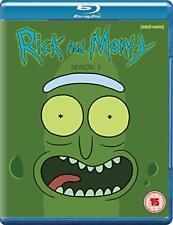 Rick and Morty Season 3 [Blu-ray] [DVD][Region 2]