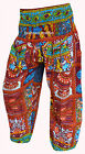 INDIAN BAGGY GYPSY HAREM PANTS YOGA MEN WOMEN RAYON BOHEMIAN ALIBABA TROUSERS-2f