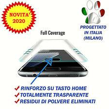 Pellicola Vetro Temperato Curvo per Samsung Galaxy S7 Edge G935F PROTEZIONE 100%