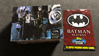 1995 SKYBOX THE ADVENTURE OF BATMAN RETURNS COMPLETE (100) CARD SET