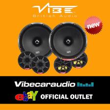 """Vibe SLICK 6C-V7 COMP 540 Watts Pair 6.5"""" 17cm 2 Way Component Car Door Speakers"""