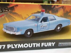Greenlight 84122 - Beverly Hills Cop - 1977 Plymouth Fury - 1/24 Scale - NEW