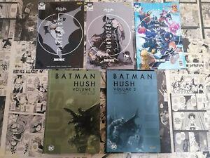 BATMAN HUSH-VOLUME 1 e 2- DI JEPH LOEB-JIM LEE + BATMAN FORTNITE 1-2 e 2
