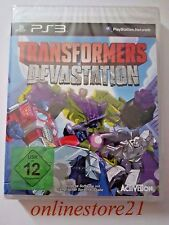 Transformers Devastation PlayStation 3 NEU PS3