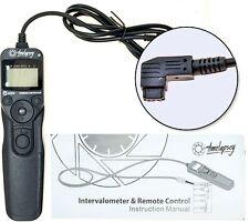 DSLR Régulateur De Recouvrement/minuterie déclencheur pour Time-Lapse Photography + Astro L