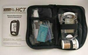 GlucoRx HCT Blood Glucose & Ketone Diabetic Monitoring Meter/Monitor/System