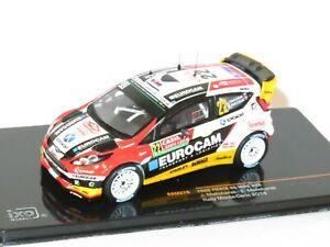 1/43 Ford Fiesta RS WRC EUROCAM  Rally Monte Carlo 2014  J.Melicharek