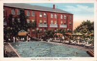 Postcard Hotel De Soto Swimming Pool in Savannah, Georgia~129611
