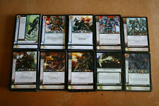 Warhammer 40k Horus Heresy CCG Dropsite Massacre Common cards - 10 cards per lot