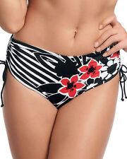 Fantasie Striped Swimwear Bikini Bottoms for Women