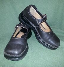 Born Mary Jane's Shoes US 6 M Brown Leather Buckle Loafer Oxford EUR 36.5