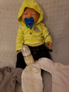 RealCare Baby Think It Over Doll G4 Caucasian male tested