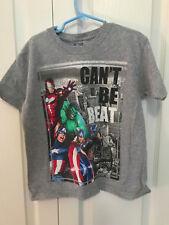 Marvel Avengers Gray short sleeve shirt size 5/6