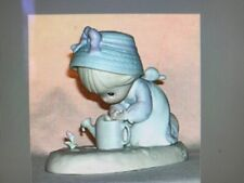 """Precious Moments 1991 Figurine 524271 """"Friendship Grows When You Plant A Seed"""""""