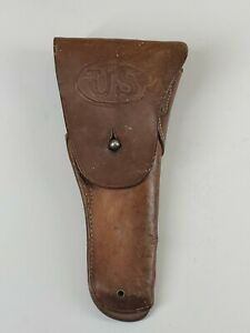 WWI U.S. Army, U.S. Military, .45 CAL. M-1911, Automatic Pistol Leather Holster
