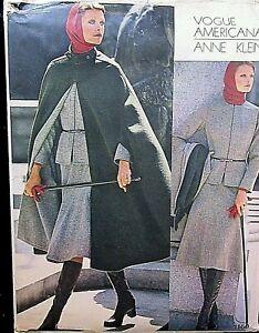 Vogue Americana Pattern 1160 Anne Klein Size-14
