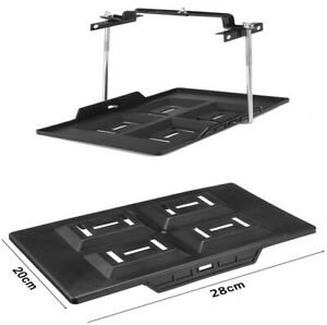 Automotive Battery Tray + Hold Down Clamp Kit Good Bearing Capacity Durable Use