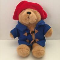 Paddington Bear Plush 38cm Blue Toggle Coat Red Hat 2003 Soft Toy Animal