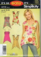 Simplicity Ladies Top Shorts Pants Sewing Patterns Misses 12 14 16 18 20