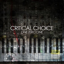 Critical Choice ‎– One Zero One CD Promo IBOGA records Atmos LOUD  Liquid Soul