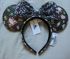 Disney Parks Loungefly Nightmare Before Christmas Minnie Ears Headband New 2020