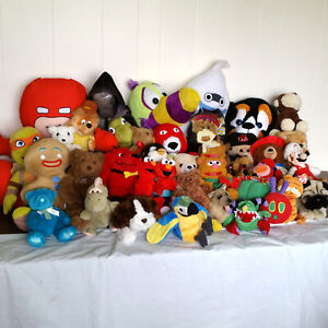 Huge Lot Plush Stuffed Animals Star Wars Super Mario Dolls Soft Toys For Boys