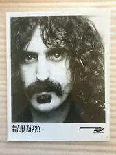 Frank Zappa original vintage press headshot photo