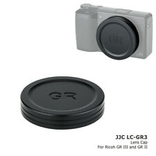 JJC Camera Body Cap Lens Cap Dust Cover Prtection for Ricoh GR III GR II GR2 GR3