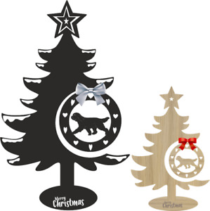 Bearded Collie Christmas Tree and Bauble Xmas decoration Dog breeds
