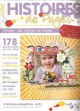 HISTOIRES DE PAGES N°58 LES MARIAGES / LE GESSO  / LE CARTONNAGE / LES CLIPS