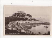 Mont Orgueil Castle Jersey 1907 RP Postcard 274b