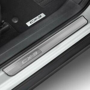 New Genuine Mazda CX3 Scuff Plates (Set of 4)