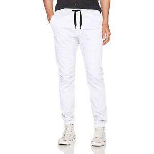 WT02 Men's Jogger White Pants Size Medium 81767