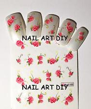 20 Nail art water sticker transfers-adesivi per unghie Fiori- BUY 3 GET 1 FREE!!